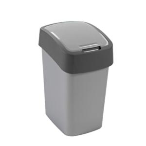 02171 - Kosz na śmieci 25l Flip Bin segregacja czarny