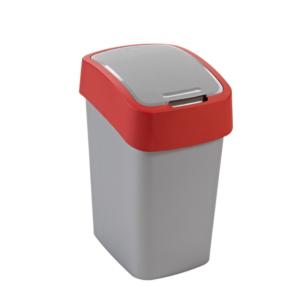 02171 - Kosz na śmieci 25l Flip Bin segregacja czerwony