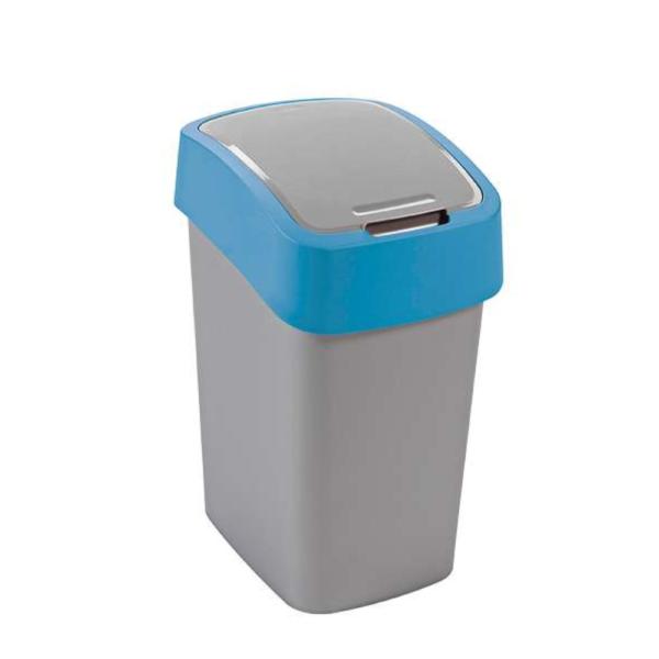 02171 - Kosz na śmieci 25l Flip Bin segregacja niebieski
