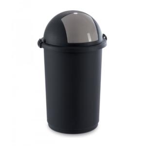5055 - Kosz do na śmieci 50L push kolory czarny