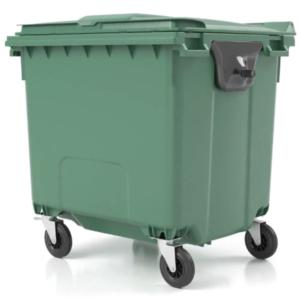 C1100 - Pojemnik na odpady 1100L z pokrywą (3)
