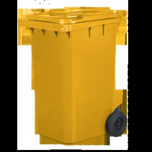 C240 F - Pojemnik na odpady 240L żółty