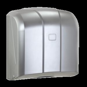K4BM - Dozownik ręcznika ZZ 500 listków srebrny