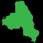 mapa zielona czesc